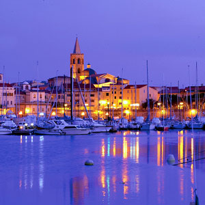 Alghero: The port